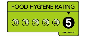 Food Hygiene Rating - The Wonky Waffle